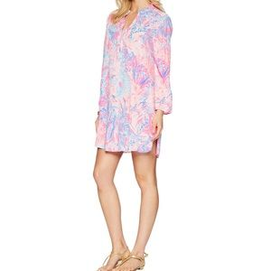 LILLY PULITZER Light Pasha Pink Esme Cover Up